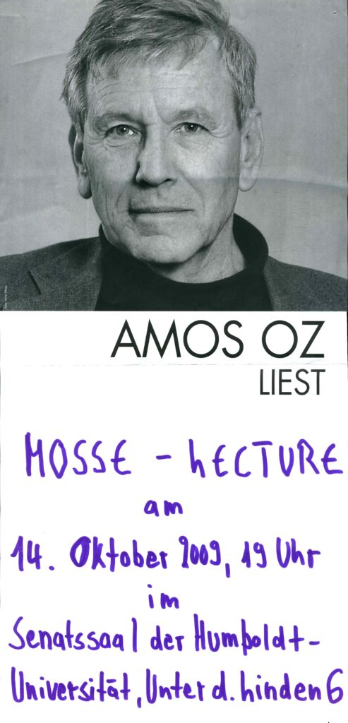 2009.10.14 - Amos Oz - Humboldt Universität 02