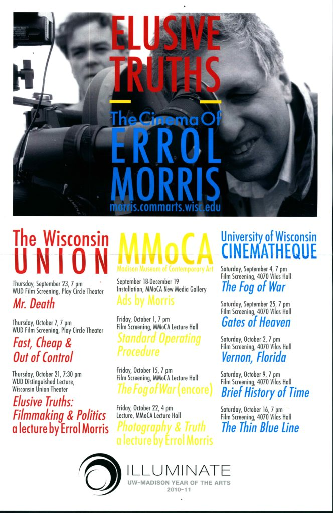2010.09.23 - Errol Morris - Elusive Truths 01