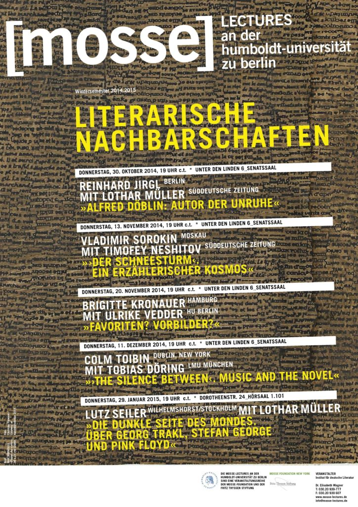 2014-2015 - Mosse-Lectures