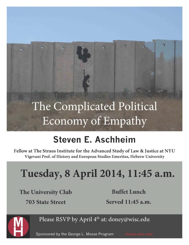 2014.04.08 - Steven Aschheim - Complicated Empathy 01
