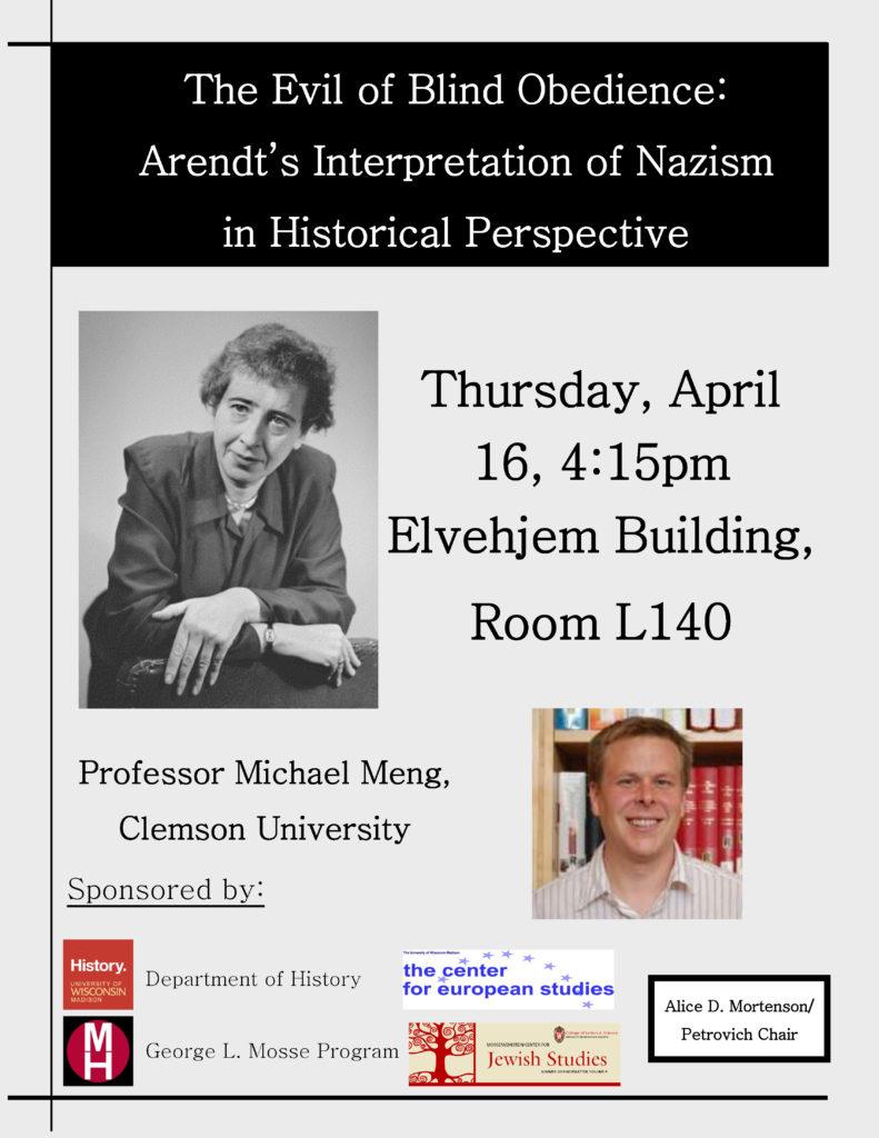 2014.04.16 - Michael Meng - Hannah Arendt