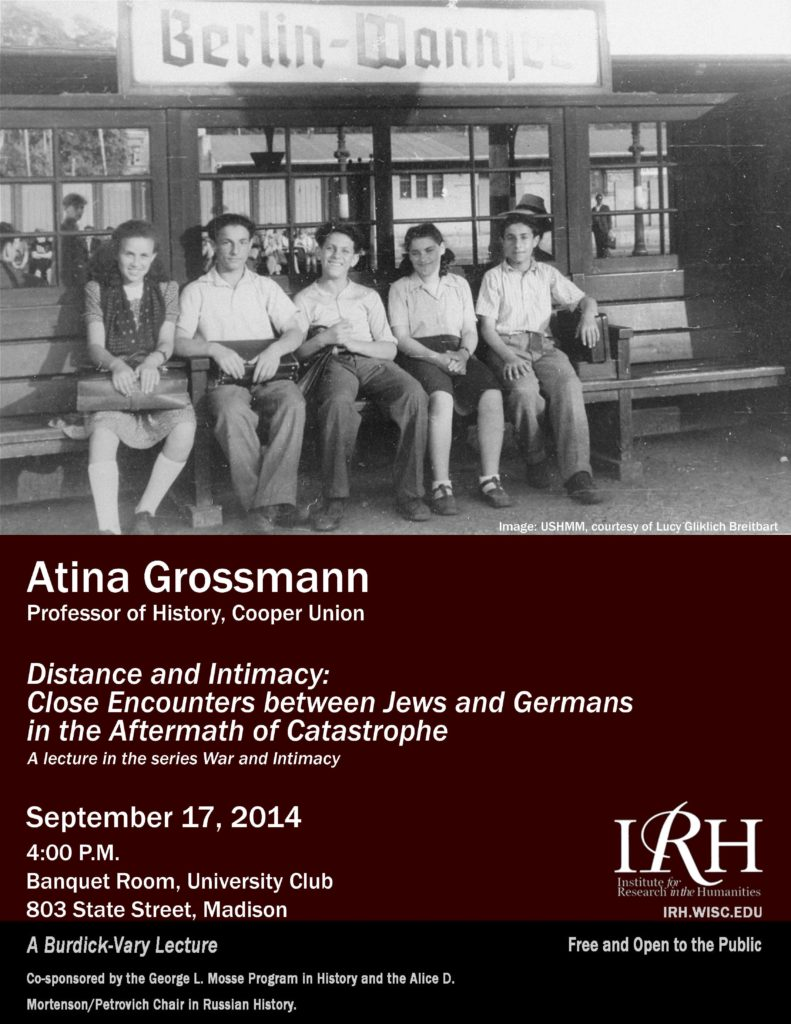 2014.09.17 - Atina Grossmann - Distance and Intimacy 04