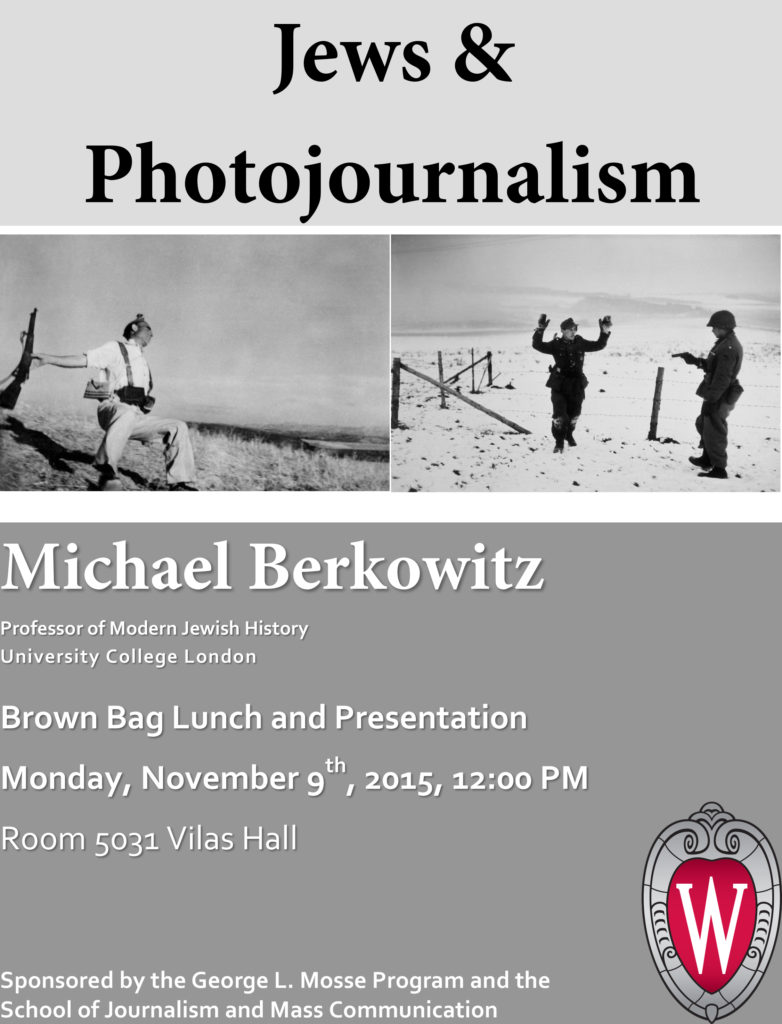2015.11.09 - Michael Berkowitz - Jews and Photojournalism 01