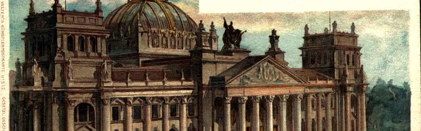 Berlin-Reichstags Gebaude
