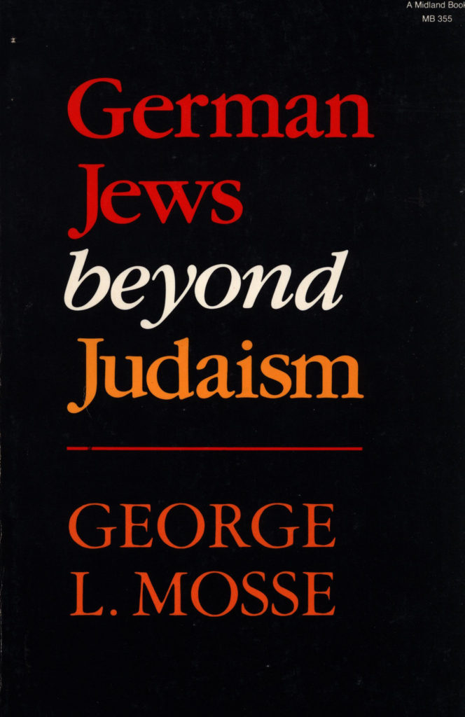 German Jews beyond Judaism