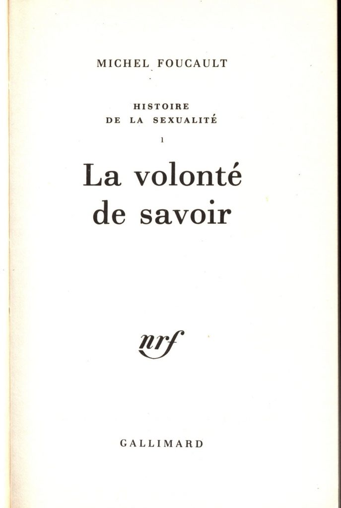 Foucault Volonte 1976 0002