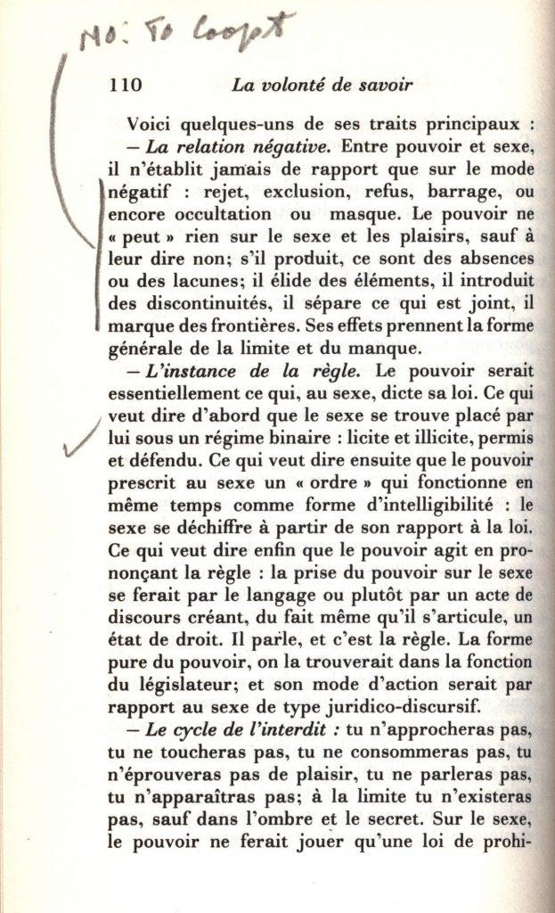 Foucault Volonte 1976 0075